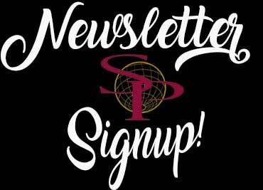 Newsletter signup website