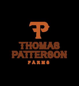 TPF logo stacked Orange Rust light BG